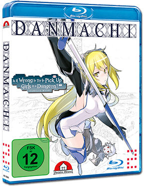 DanMachi Vol. 2 Blu-ray