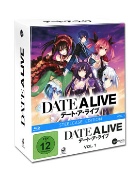 Date a Live Vol. 1 - Limited Edition (inkl. Schuber) Blu-ray