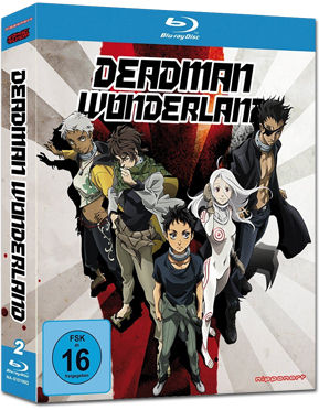 Deadman Wonderland Blu-ray (3 Discs)