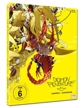 Digimon Adventure tri. Chapter 3: Confession Blu-ray