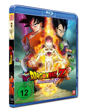 Dragonball Z: Resurrection 'F' Blu-ray