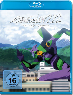 Evangelion 2.22: You Can (Not) Advance Blu-ray