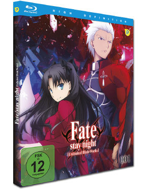 Fate/stay night: Unlimited Blade Works Vol. 1 Blu-ray