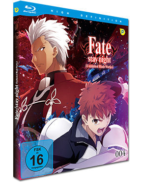 Fate/stay night: Unlimited Blade Works Vol. 4 Blu-ray