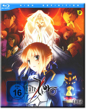 Fate/Zero Vol. 3 Blu-ray