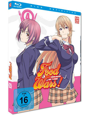 Food Wars - Shokugeki no Soma Vol. 4 Blu-ray