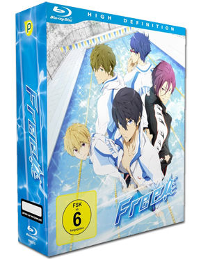 Free! Vol. 1 - Limited Edition (inkl. Schuber) Blu-ray