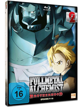 Fullmetal Alchemist: Brotherhood Vol. 2 Blu-ray