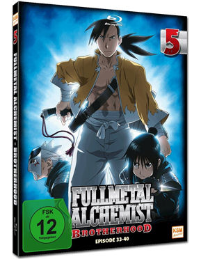 Fullmetal Alchemist: Brotherhood Vol. 5 Blu-ray