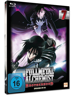 Fullmetal Alchemist: Brotherhood Vol. 7 Blu-ray