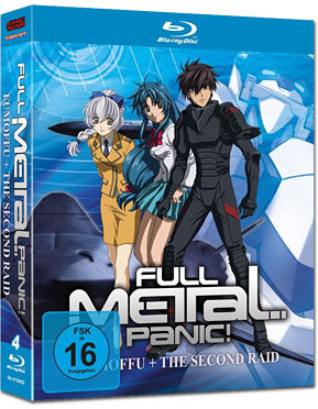 Full Metal Panic! Fumoffu & The Second Raid Blu-ray (4 Discs)