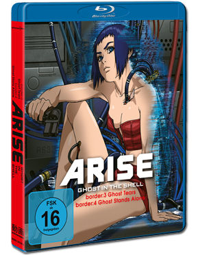 Ghost in the Shell Arise: Border 3+4 Blu-ray