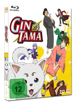 Gintama Box 4 Blu-ray (2 Discs)