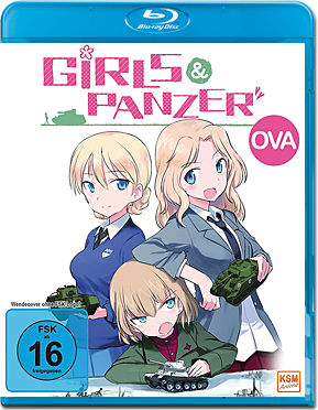 Girls & Panzer OVA Blu-ray