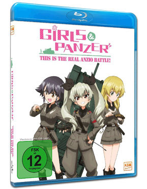 Girls & Panzer: This Is the Real Anzio Battle! Blu-ray