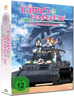 Girls & Panzer Vol. 1 (inkl. Schuber) Blu-ray