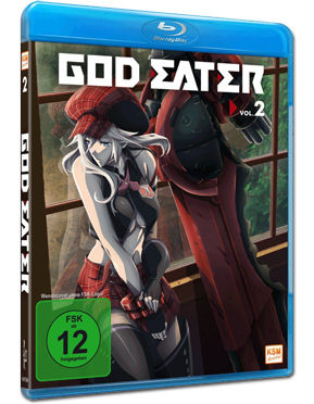 God Eater Vol. 2 Blu-ray
