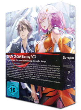 Guilty Crown - Complete Box Blu-ray (4 Discs)