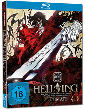 Hellsing Ultimate OVA 01 Blu-ray