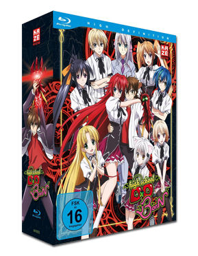 HighSchool DxD BorN Vol. 1 - Limited Edition (inkl. Schuber) Blu-ray