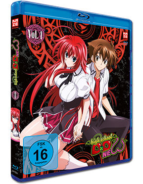HighSchool DxD New Vol. 1 Blu-ray