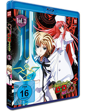HighSchool DxD New Vol. 3 Blu-ray