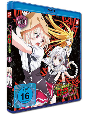 HighSchool DxD New Vol. 4 Blu-ray