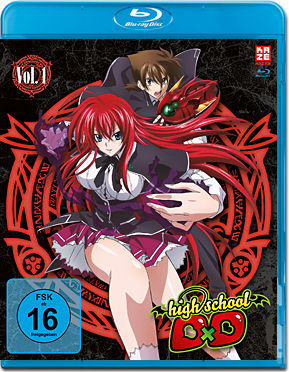 HighSchool DxD Vol. 1 Blu-ray