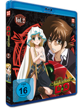 HighSchool DxD Vol. 2 Blu-ray