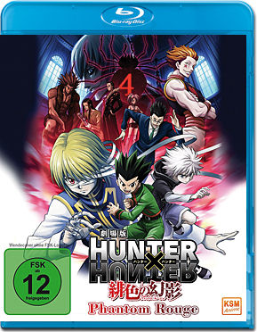 Hunter x Hunter: Phantom Rouge Blu-ray