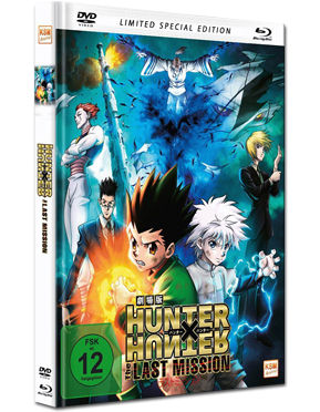 Hunter x Hunter: The Last Mission - Limited Special Edition Blu-ray (2 Discs)