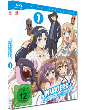 Invaders of the Rokujyoma Vol. 1 Blu-ray