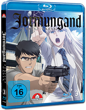 Jormungand Vol. 3 Blu-ray