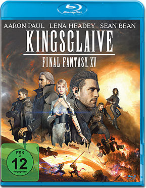 Kingsglaive: Final Fantasy 15 Blu-ray