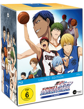 Kuroko's Basketball Vol. 1 - Limited Edition (inkl. Schuber) Blu-ray