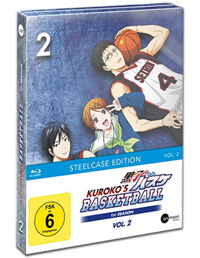Kuroko's Basketball Vol. 2 - Steelcase Edition Blu-ray