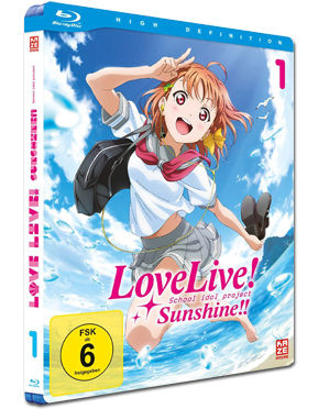 Love Live! Sunshine!! Vol. 1 Blu-ray