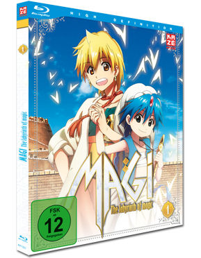 Magi: The Labyrinth of Magic - Box 1 Blu-ray