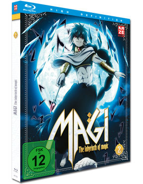 Magi: The Labyrinth of Magic - Box 2 Blu-ray