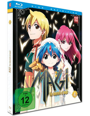 Magi: The Labyrinth of Magic - Box 4 Blu-ray