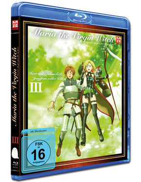 Maria the Virgin Witch Vol. 3 Blu-ray