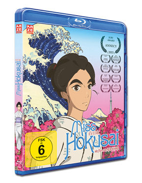 Miss Hokusai Blu-ray