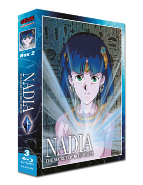Nadia: The Secret of Blue Water - Box 2 Blu-ray (3 Discs)