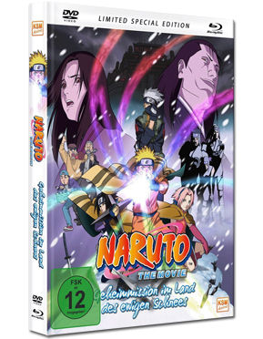 Naruto the Movie 1: Geheimmission im Land des ewigen Schnees - Limited Special Edition Blu-ray (2 Discs)