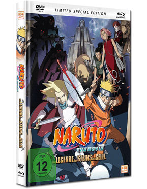 Naruto the Movie 2: Die Legende des Steins von Gelel - Limited Special Edition Blu-ray (2 Discs)