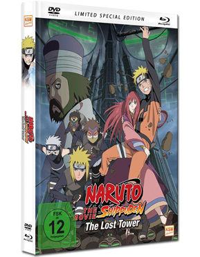 Naruto Shippuden The Movie 4: The Lost Tower - Limited Special Edition Blu-ray (2 Discs)