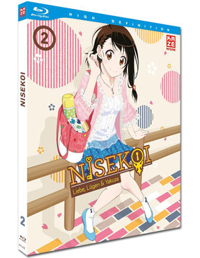Nisekoi Vol. 2 Blu-ray
