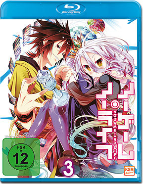 No Game No Life Vol. 3 Blu-ray