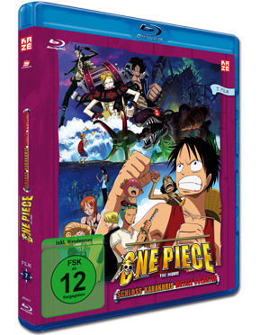 One Piece: Der 07. Film - Schloss Karakuris Metall-Soldaten Blu-ray