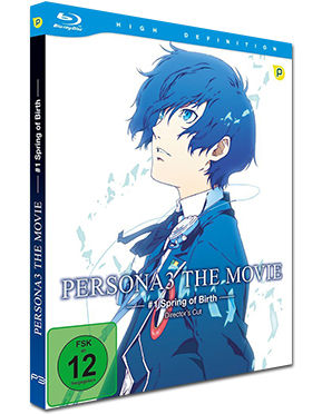 Persona 3: The Movie #1 - Spring of Birth Blu-ray